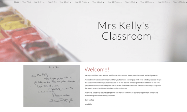 Utilising Google Sites and Google Classroom for Accessible Learning for All